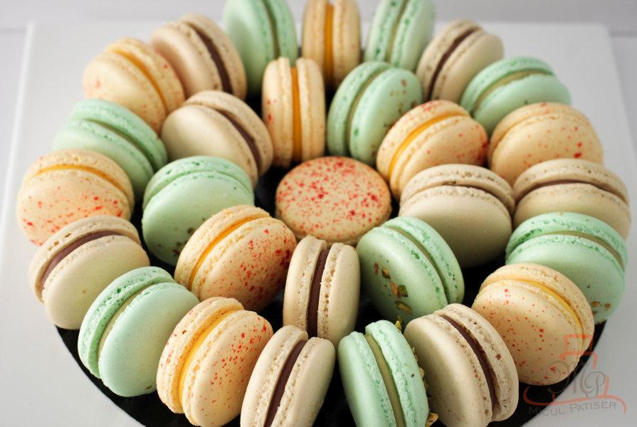 Platou macarons