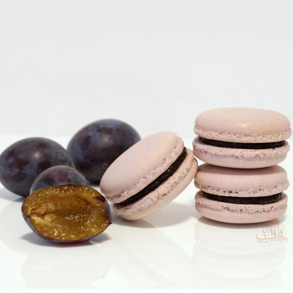 Macarons cu gem de prune