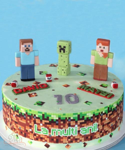Tort gemeni Minecraft