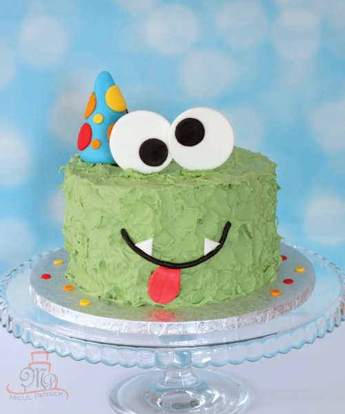 Tort Smash the cake Monstrulet-M