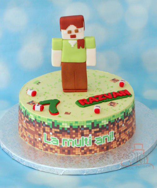 Tort Minecraft figurina Alex