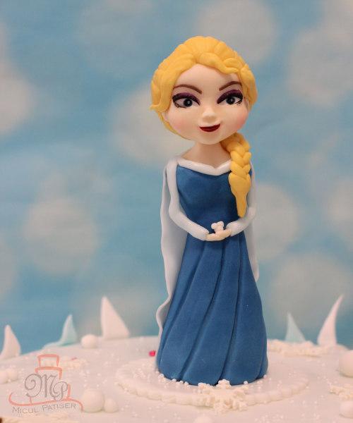 Tort Frozen cu Elsa si Olaf