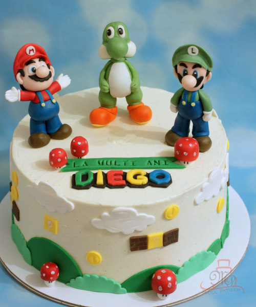 Tort Super Mario Luigi Yoshi