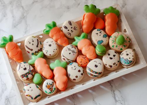 Macarons decorati de Paste