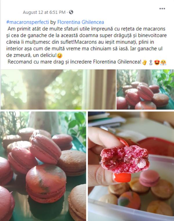 Testimonial 10 curs macarons